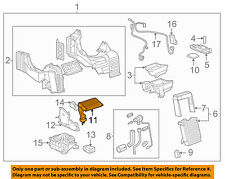 GM OEM-Auxiliary Heater Core 89023339