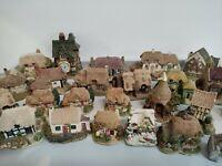 Lilliput Lane Houses, The Leonardo Collection, small houses, figurines, vgc