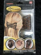 EZ Combs 2 X Stretchable Double Comba For Hair BN
