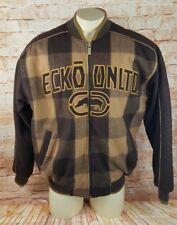 ECKO UNLTD Marc Ecko Wool blend Varsity Style Outdoor Winter Jacket Men M