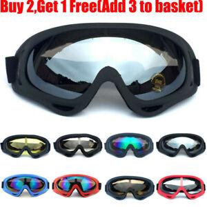 Unisex Anti-Fog Wind Dust Surfing Jet Ski Snow Cycling Biker Goggles Glasses Hot