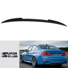 """LA STOCK"" Unpainted BMW 3-Series F80 M3 Sedan 4D V-Style Rear Trunk Spoiler"