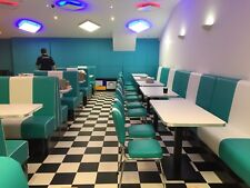 Authentic American Diner Table with a wide choice of pedestal bases