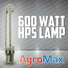 600 watt HPS Bulb 600w Lamp HIGH PRESSURE SODIUM w AGRO