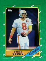 1986 Topps #374 Steve Young HOF ROOKIE Buccaneers / 49ers 2012 Reprint