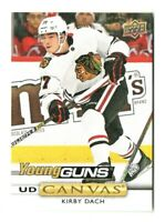 2019-20 Upper Deck UD Canvas Young Guns Kirby Dach  #C223 Rookie - Chicago