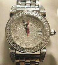 Women's Diamond Watch 1.20 ctw with Stainless steel bracelet - by Aqua Master