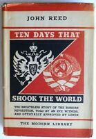 TEN DAYS THAT SHOOK THE WORLD ~ 1935 ~ JOHN REED ~ MODERN LIBRARY EDITION