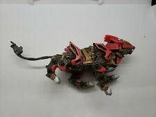 2002 Hasbro Tomy Zoids Liger Zero Red Action Figure with tail!