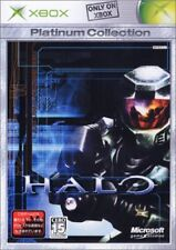 Used Xbox  Halo  Platinum MICROSOFT JAPAN JP JAPANESE JAPONAIS IMPORT