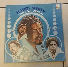 Barry White‎ – Can't Get Enough - Philips ‎6370 210 A - 1974