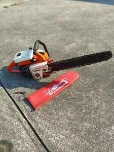 Vintage Lombard Lightning Chainsaw