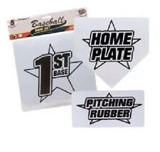 Set of Baseball Softball Bases plus Pitching Rubber & Home Plate Brand New