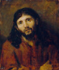 Christ by Rembrandt Fine Art Print on Canvas Reproduction Giclee Decor Small
