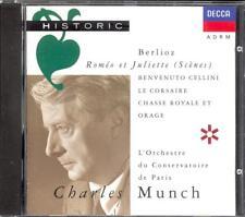 BERLIOZ - Romeo & Juliet Scenes / 2 Overtures - Charles MUNCH