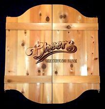 """37""""- 52"""" Wild West Cheers Saloon Cafe Swinging Doors w/ Logo"""