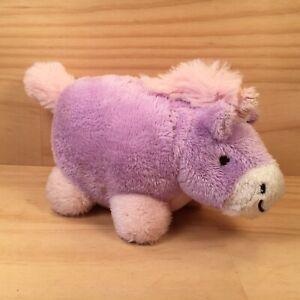 "PILLOW PETS ""Unicorn"" Gorgeous Little Purple Pony Soft Toy Stuffed Animal Friend"