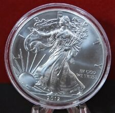 2012 American Silver Eagle BU 1 oz Coin US $1 Dollar Mint Brilliant Uncirculated