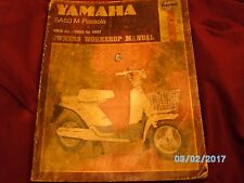YAMAHA SA50 M Passola haynes workshop 1980 to 1981 service & repair manual