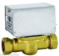 TOWER 22mm 2 TWO PORT MOTORISED ZONE VALVE 5 WIRE REPLACES HONEYWELL V4043H