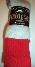 RedHead Brand Finest Merino Wool Blend Socks, Size 10-13 US, 4 pair