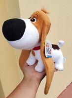 Secret Life of Pets 2 Universal Studios Parks Plush Toy Tiny Basset Hound Dog