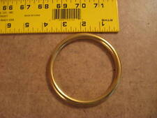 "3"" Solid Brass O Rings Sca (Pack Of 2)"