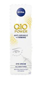 1 x Nivea Q10 Power Anti Wrinkle + Firming Eye Cream For All Skin Types 15ml