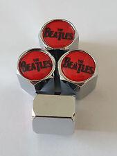 THE BEATLES car Valve Alloy wheel dust Caps All models All Cars AUDI KIA S LINE