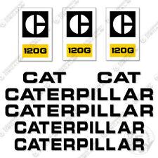 Caterpillar 120G Decal Kit Scraper Equipment Decals Motor Grader 120 G