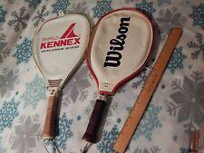 Vtg. Tennis Racquets (Lot of 2) Wilson Lady Champion + Pro Kennex Blaster - Ltd.