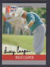 Billy Casper 1990 PGA Tour Pro Set # 81 autographié signé jhpsg