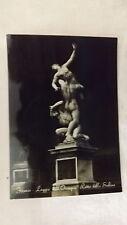 1950's Postcard 4X6 Real Photo  Florence Loggia dell Orcagna Ratto dello Sabine