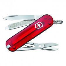Victorinox Swiss Army Classic TRANSLUCENT RUBY  54211 Knife NEW