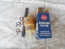 NOS Vintage AC Fuel Gasoline Gas Filter GF-65 GM Chevy Corvette Buick Pontiac