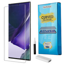 For Samsung Galaxy Note 20 Ultra Uv Full Cover Tempered Glass Screen Protector