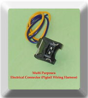 Electrical Connector For  Idle Air Control Valve Fuel Injector , Camshaft , &
