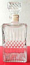 Whiskey Decanter for Scotch, Liquor, Vodka, Wine or Bourbon - Irish Cut W/Stoppe
