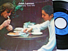 "7"" - John Lennon (Beatles) Nobody told me & O´ Sanity - UK 1984 # 6306"
