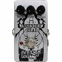 M.A.S.F. Fuzz LAVENDER HEAD Guitar Effect Pedal w/ Tracking NEW