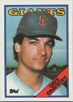Dave Dravecky 1988 Topps Baseball Card #68 Los Angeles Dodgers