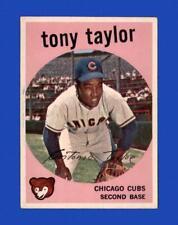 1959 Topps Set Break # 62 Tony Taylor EX-EXMINT *GMCARDS*