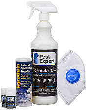 Flea Treatment for House & Carpets Kit (containing Smoke Bombs) - Standard