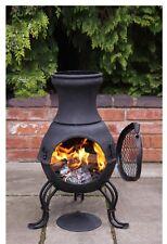 Cast Iron Chimenea Chiminea Garden Heater Wood Burning Stove Patio Heater
