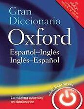 Gran Diccionario Oxford Español-Inglés/Inglés-Español. ENVÍO URGENTE (ESPAÑA)