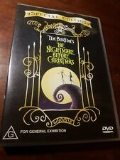 Tim Burton's The Nightmare Before Christmas (DVD, Region 4) Special Edition