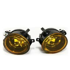 Fit 99-03 E39 M5/01-05 E46/01-05 E46 M3 Front Bumper Fog Lights Yellow Lens