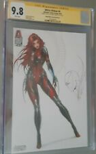White Widow #4 Sketch Up Edition Jamie Tyndall Signed W/ Spawn Remark CGC 9.8 SS