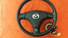 Mazda MX5 Cabrio  Airbag Lederlenkrad mit Schleifring Baujahr 2002