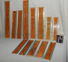 3 4x Alurahmen NESTLER Schriftschablonen Set nach DIN 1451  2 5 mm GERADE 4